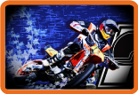 PMP Productions REV Racing Entertainment MOTO Banner art