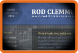Rod Clemmons - March Newsletter